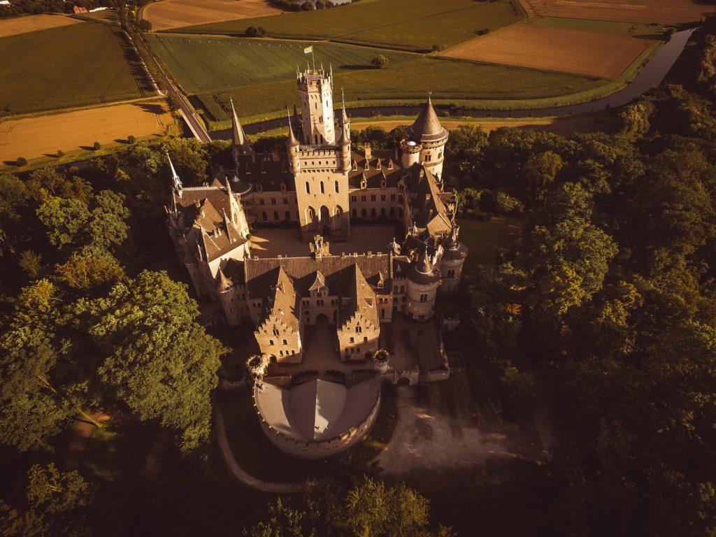 Drone pxpro kasteel